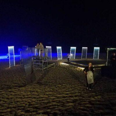 visuel identitet på stranden